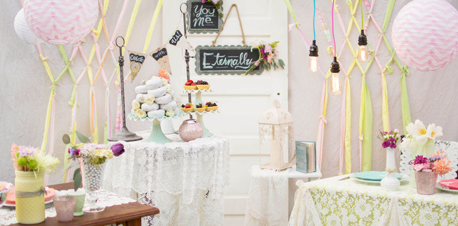 Vintage Chic and Cottage Weddings