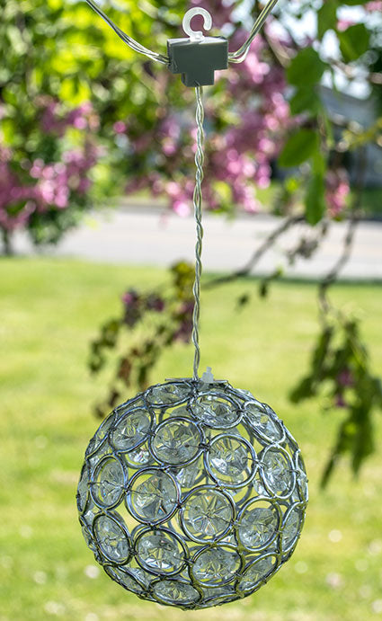Crystal Jewelry Ball String Lights