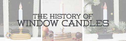 History of Window Candles