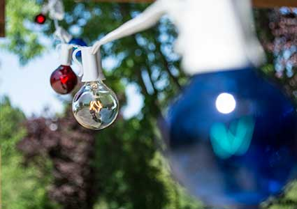 Globe String Lights for the 4th of July