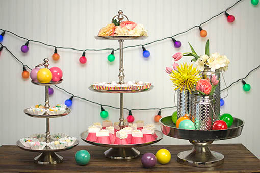 Tiered Pedestal Tray, Desserts and Cupcakes, Large