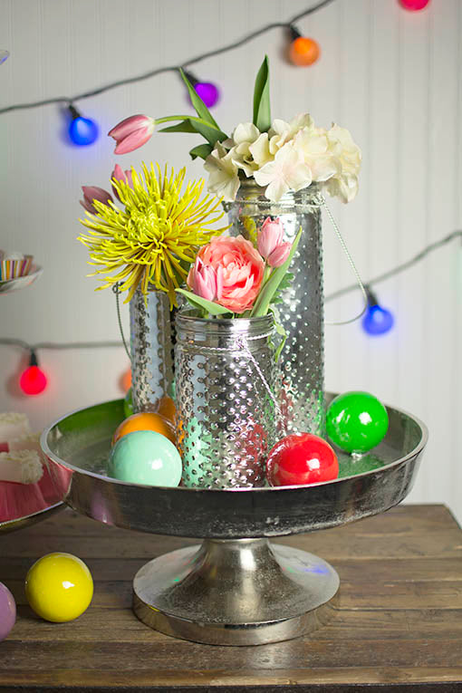 Centerpiece Tray with Pedestal Base, 16 in.