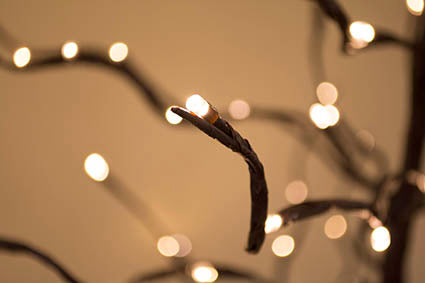 LED bendable branch tree