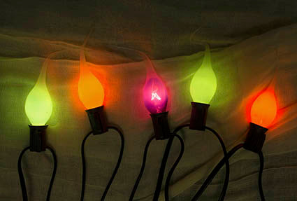 Halloween String Lights, Multicolored, Silicone