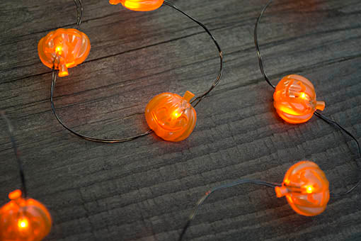 Pumpkin Fairy Lights, 40 inches