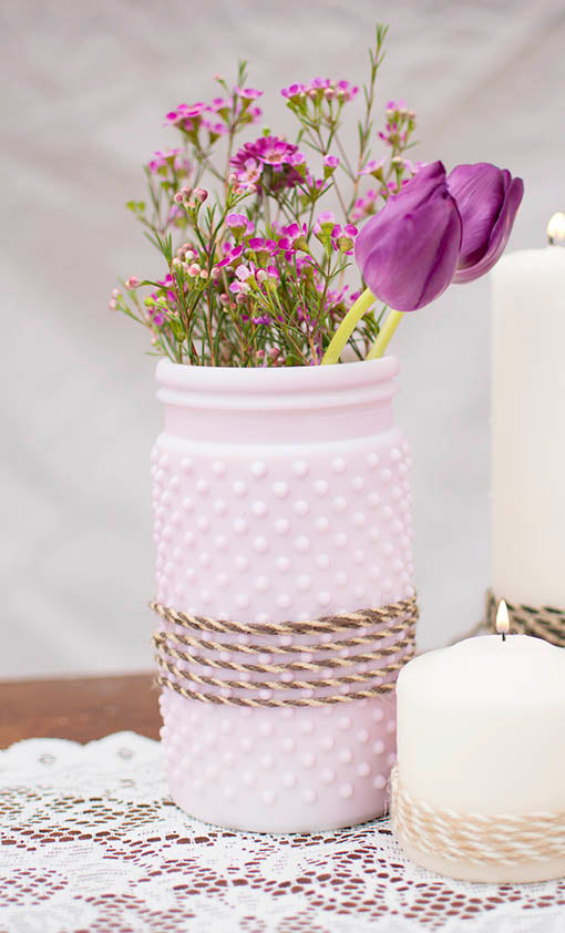 Create a quaint and whimsical table dressing by using our colored twine to accent vases, candles, floral arrangements and more.