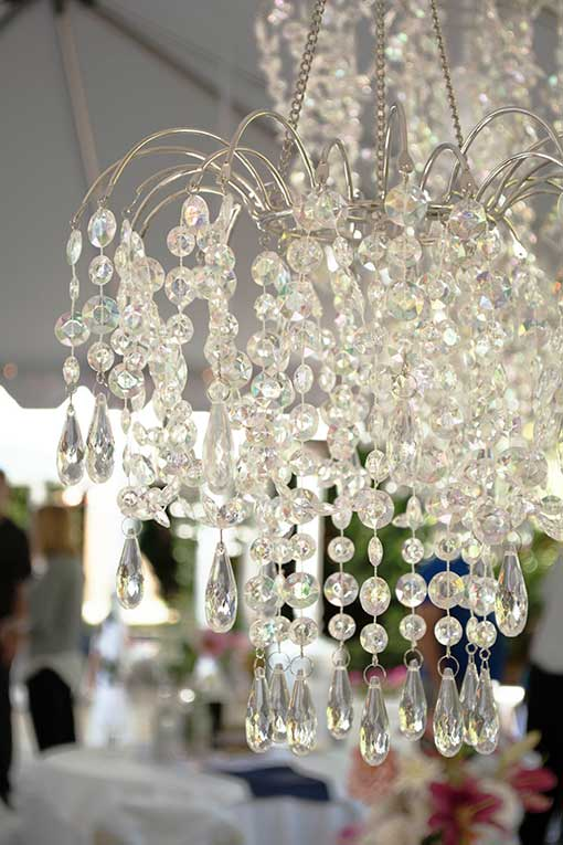 Waterfall Chandelier with Light Kit