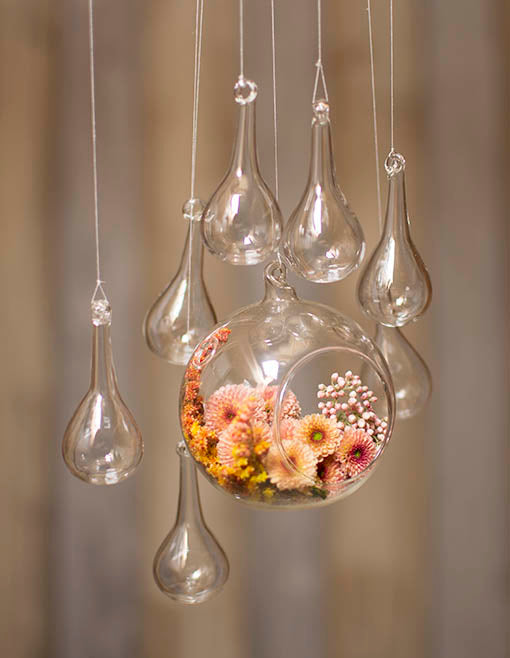 Buy Glass Raindrop Ornaments, 2 5 in  long x 1 in  wide, 32 pieces at  Lights For All Occasions for only $39 95