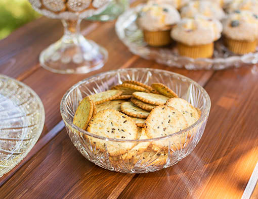 Display delicious treats in these food safe bowls! Place the bowl on a tray for an easy chip and dip dish!