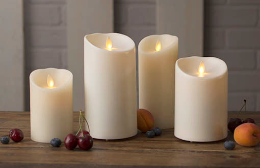 Complete our collection of Luminara candles in your home or for your event!