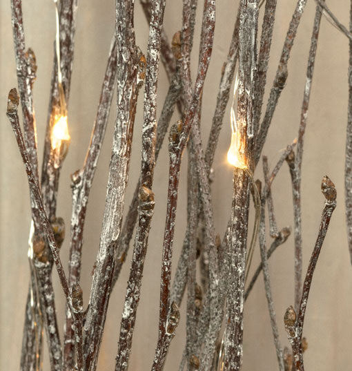 Lighted Branches, Natural Wood Twigs, Battery Op LED, 39in, Warm White