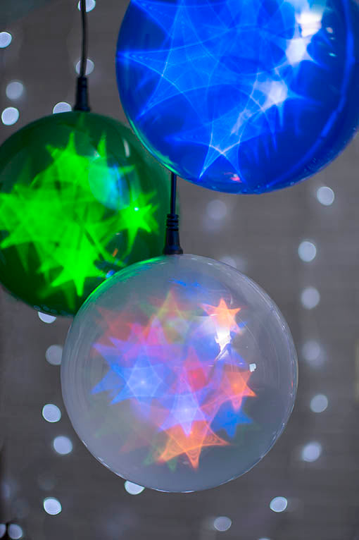 Mingle colored orbs of sparkling, low-heat emitting LED light to add an entrancing element to your next event!