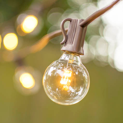 Use this strand as year round illumination in your garden or patio, or string it in your urban café for industrial chic design.