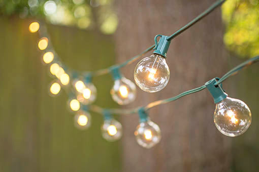 Decorate your outdoor venue with this energy efficient set, or fill your garden with brilliant illumination from these durable bulbs