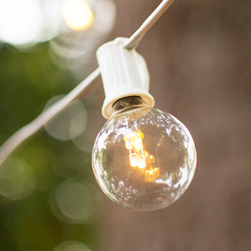 Use this durable strand for tent lighting at your reception hall, or fill an entire garden with these brilliant bulbs.