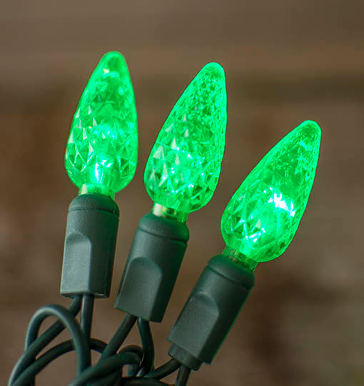 Each of the 70 acrylic bulbs is 1.25 inches in length and made with LED bulbs to be long lasting and energy efficient.