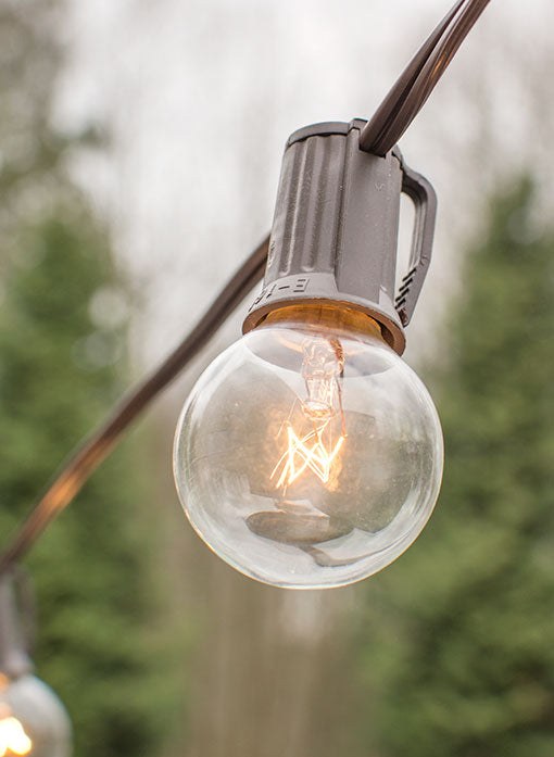 Embellish your restaurant entrance with this strand for an enchanting welcome, or brighten your campsite with this outdoor compatible string light.