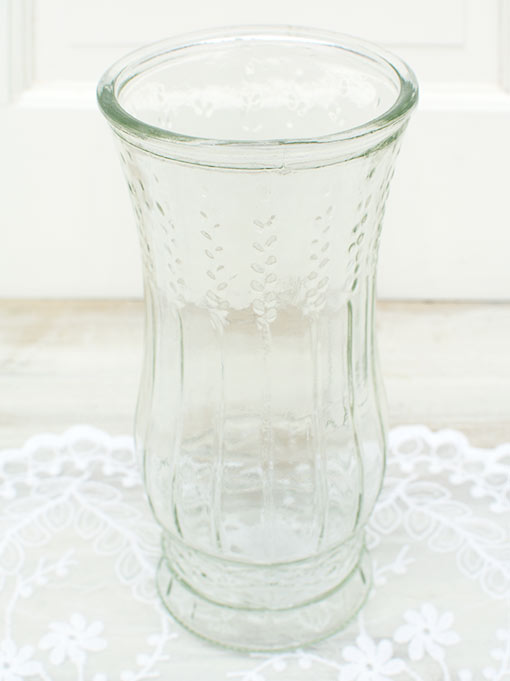 Each hurricane glass vessel stands 8.5 inch tall with a 3.25 inch diameter opening perfect for large bouquets of bright and colorful flowers.
