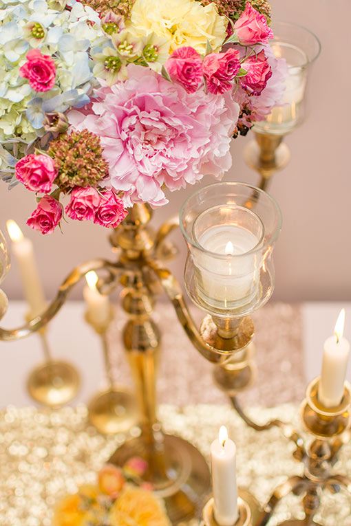 Add this votive candle holder to our 24 inch tall candelabra for an elegant and romantic addition to your centerpieces.