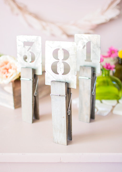 Jumbo Clothespins 4 pack