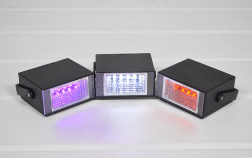 Mini Party Strobe Light, Adjustable Speed, Battery, 3.5 in, Cool White