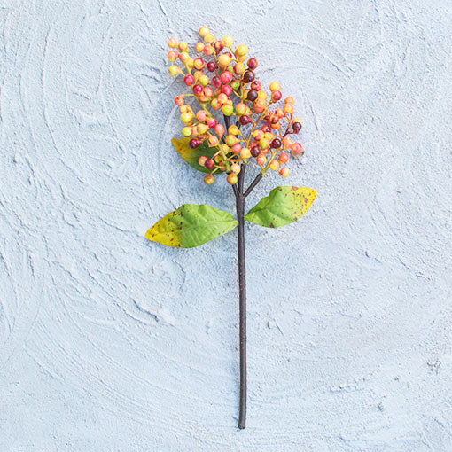 Berry Sprig in Fall Colors