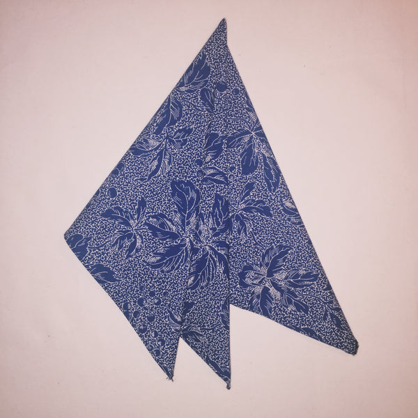 "18"" Acid Blue Berry Bandana"