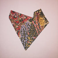 "18"" Painted Anemones Square Bandana"