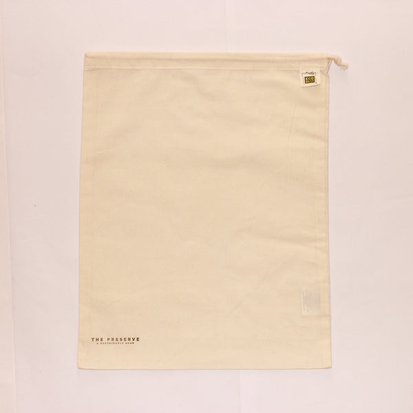 "Large Cotton Produce Bag 13"" x 17"""