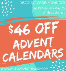 Save $46 on Yarn Advent Calendars