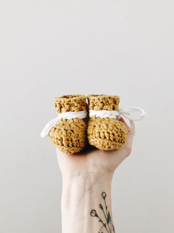 SS20 'Honey Cotton' Slippers // Baby