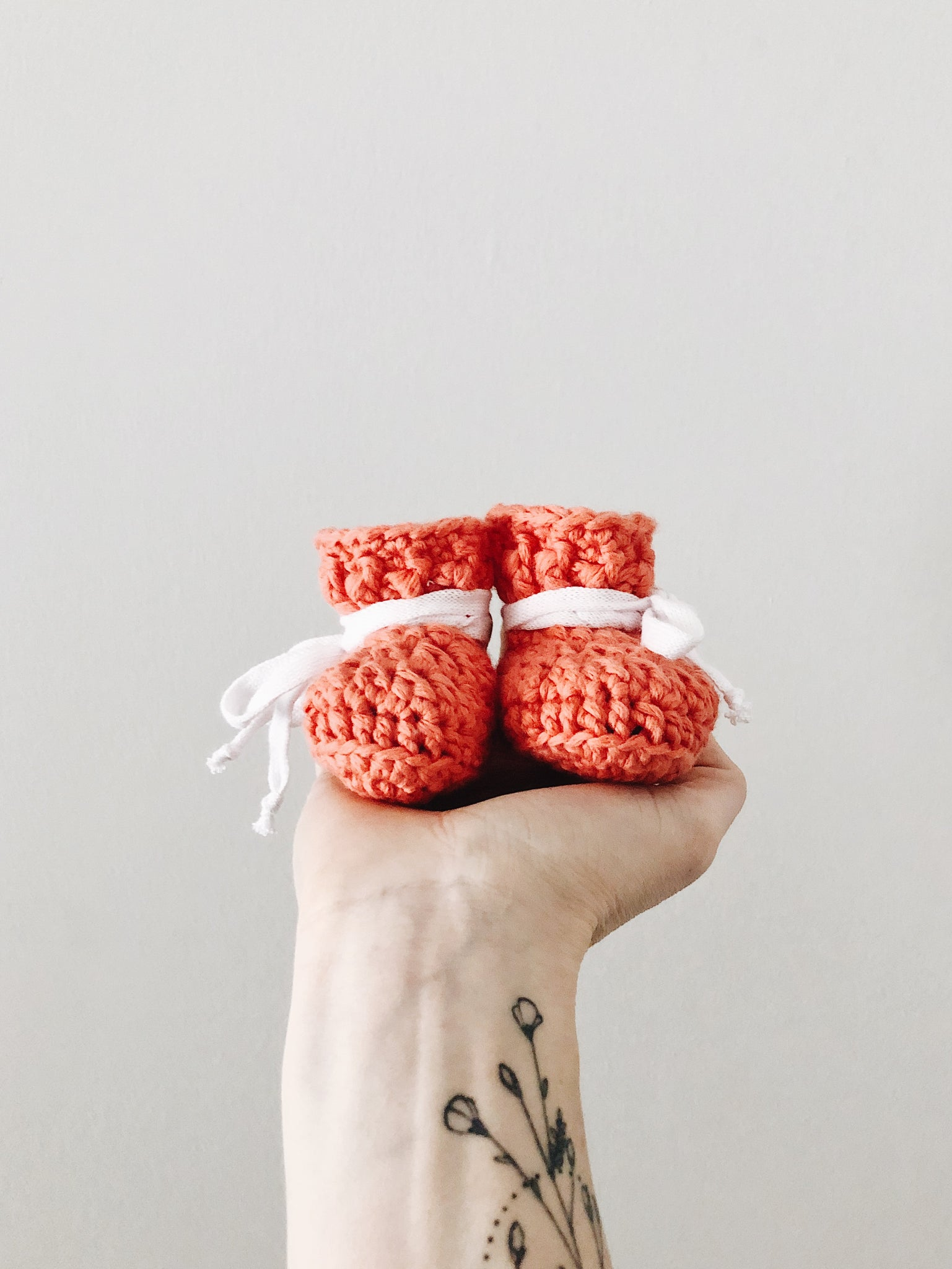 SS20 'Coral Cotton' Slippers // Baby