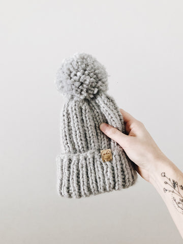 Chunky Knit Hat // Thaw // Toddler // RTS