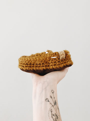 FW2020 // 'Flax' Slip-On Loafers // Toddler (made to order)