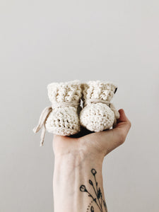 SS20 'Pearl Cotton' Slippers // Baby