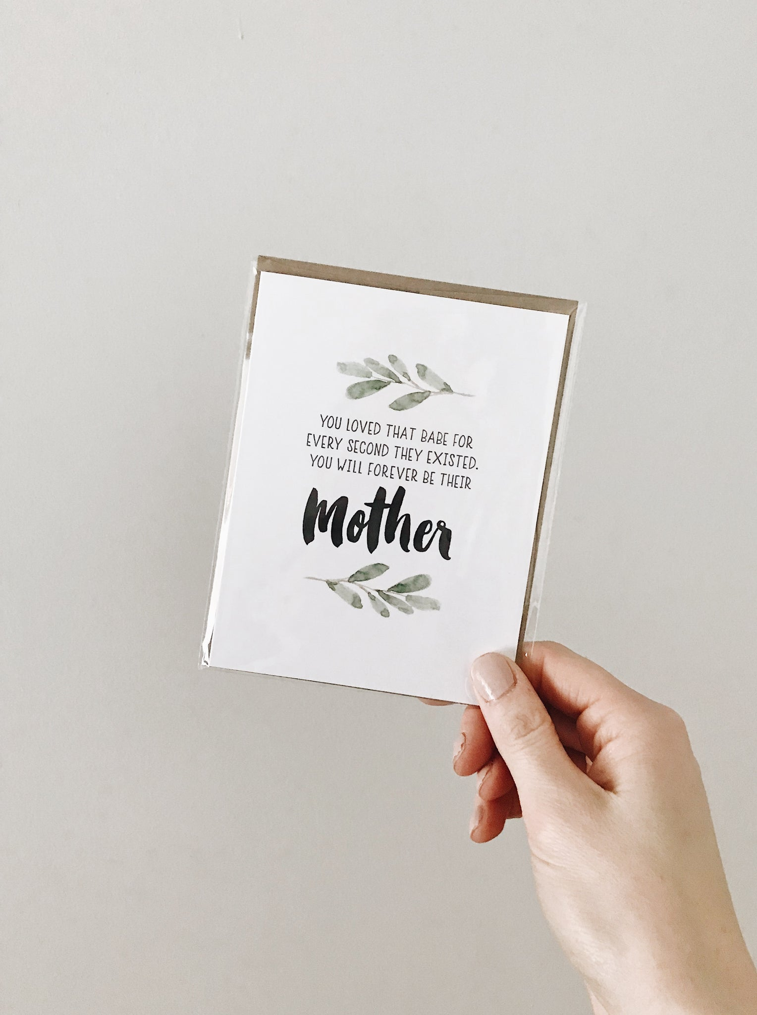 'Forever Their Mother' Noble Greeting Card