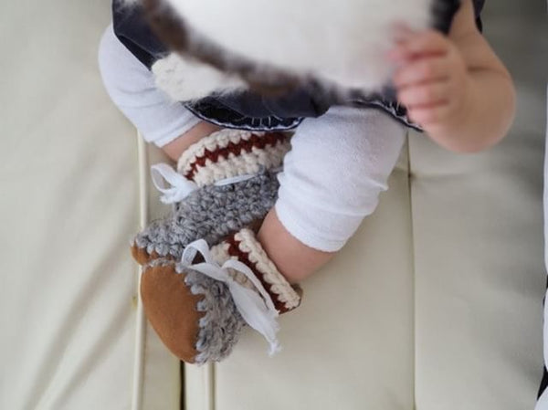 Monkey Socks Booties