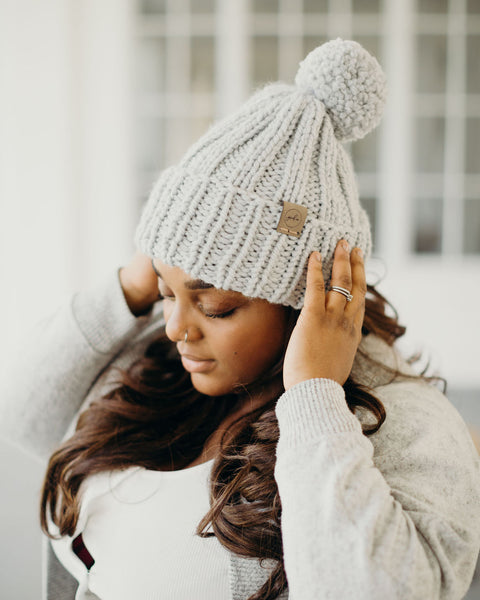 Chunky Knit Hat // Thaw // Child // RTS