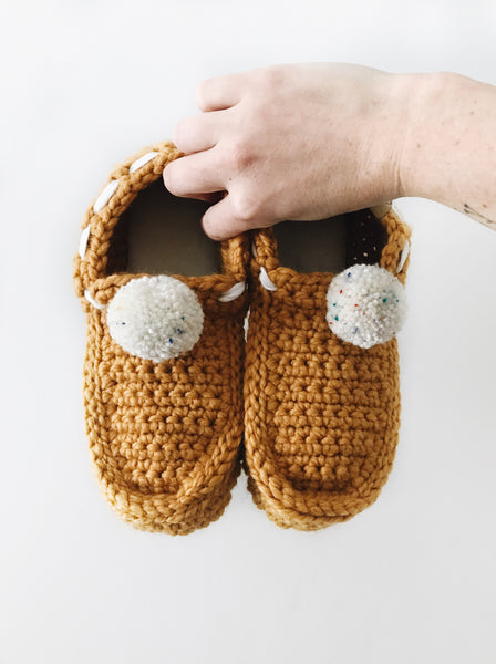 Mama Loafers - Pompoms (made to order)