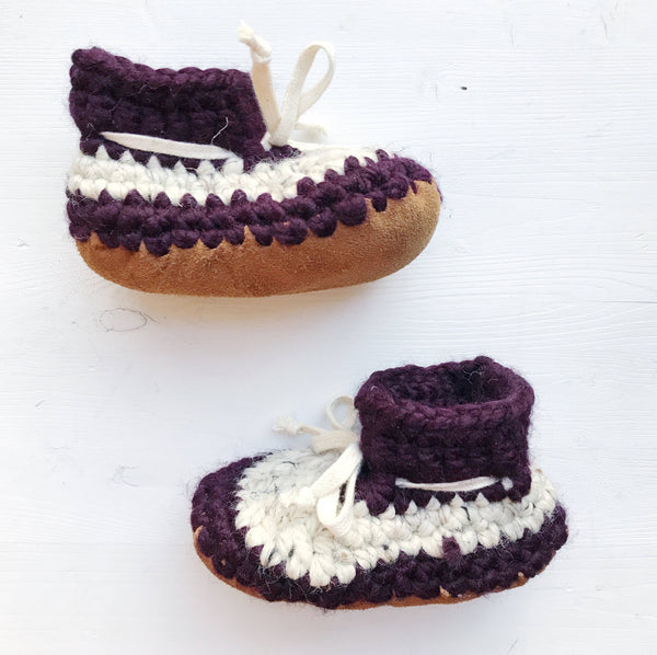 Purple Fury Booties