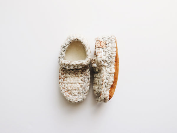 'Fossil' Slip-On Loafers // Toddler (made to order)