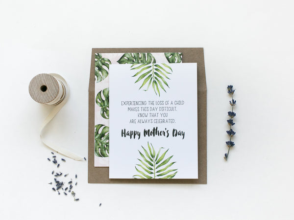'Always Celebrated' Mother's Day Noble Greeting Card