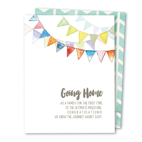 'Going Home' NICU Noble Greeting Card