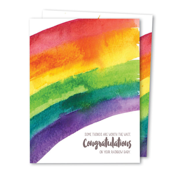 'Rainbow Baby' Infertility Noble Greeting Card