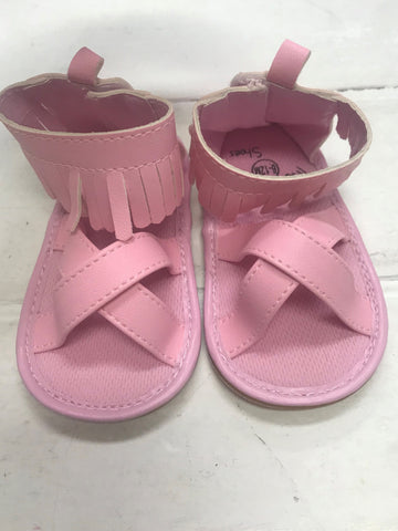 Pink Cross Shoes