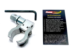 Nano-Brite Attatchment 1.25 inch (fits Rupes Nano ibrid) or Pressure Washer Bracket and mount only (Requires Light Kit)