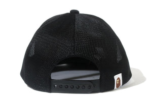 A BATHING APE Type MENS BAPE CRYSTAL STONE MESH CAP
