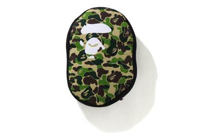A BATHING APE Type MENS ABC CAMO APE HEAD CUSHION - BAPEPLUGTO