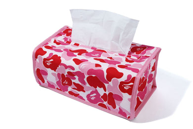 A BATHING APE Type MENS ABC CAMO TISSUE COVER - BAPEPLUGTO