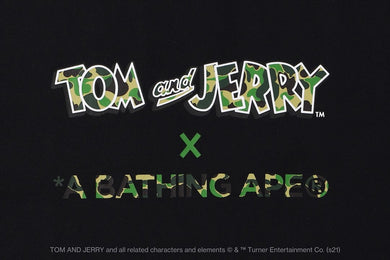 A BATHING APE Type MENS【 BAPE X TOM AND JERRY 】TEE - BAPEPLUGTO